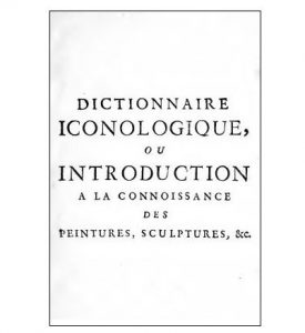dictionnaire iconologique Paris 17562